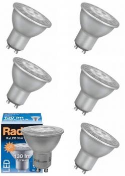 6 x Radium RaLED Star Par 16 20 130lm  2,5W