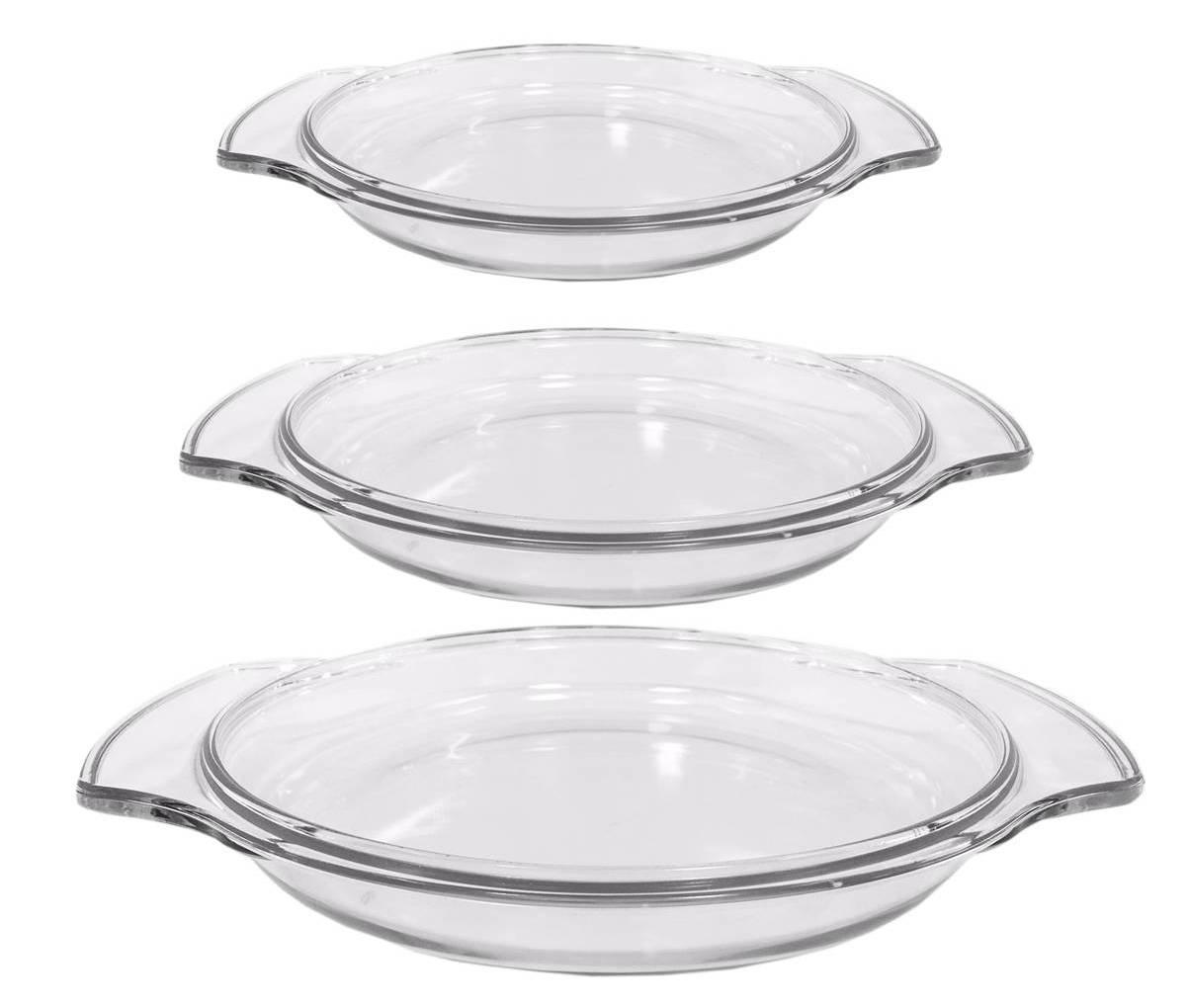 2L Termisil Auflaufformen oval ca 2 Glas