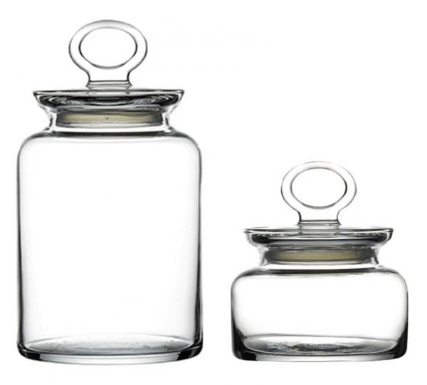 haushaltswaren die glasdosen kitcchen eignen sich zur aufbewahrung von lebensmittel. Black Bedroom Furniture Sets. Home Design Ideas